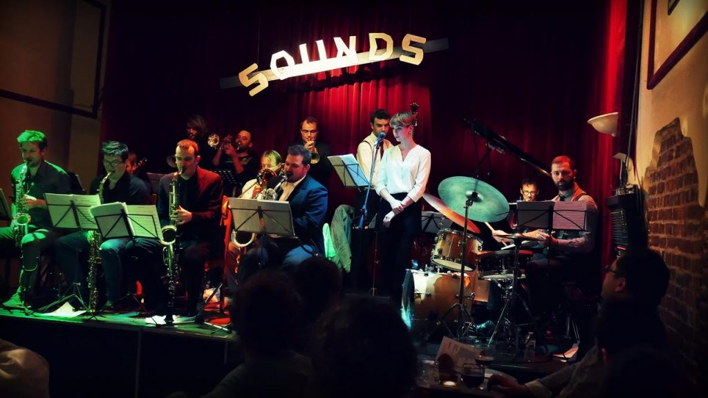 The Swingalicious Big Band at Sounds